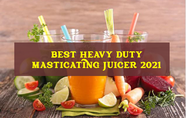 HEAVY DUTY MASTICATING JUICER 2021