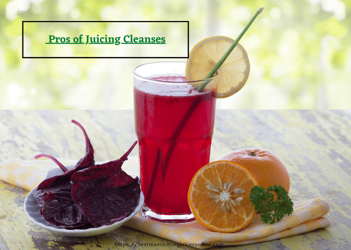 Juicing Cleanses, Pros & Cons of Juicing Cleanses