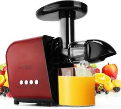 best masticating juicer for hard vegetables 2021-KOIOS Juicer, Slow Masticating Juicer