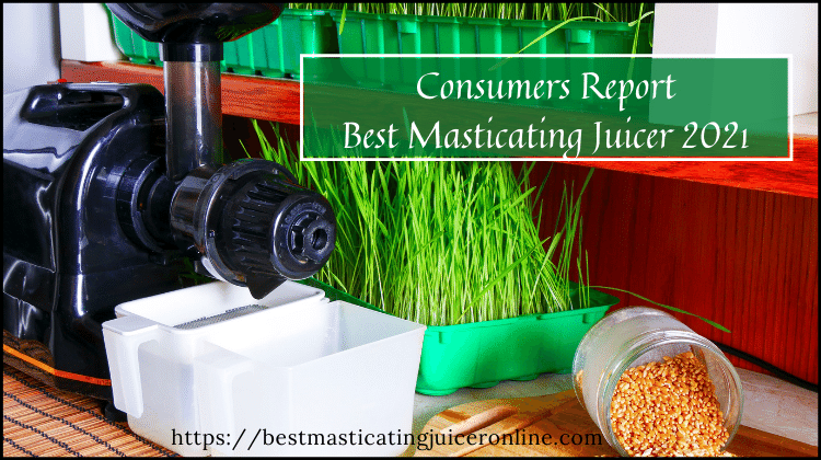 What is Best Masticating Juicer 2021 Consumer Reports