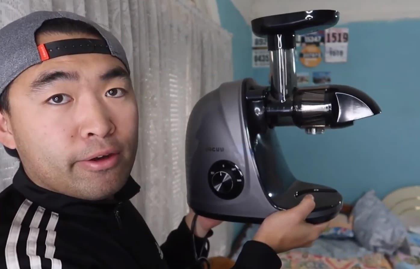 Jocuu Slow Masticating Juicer Machine