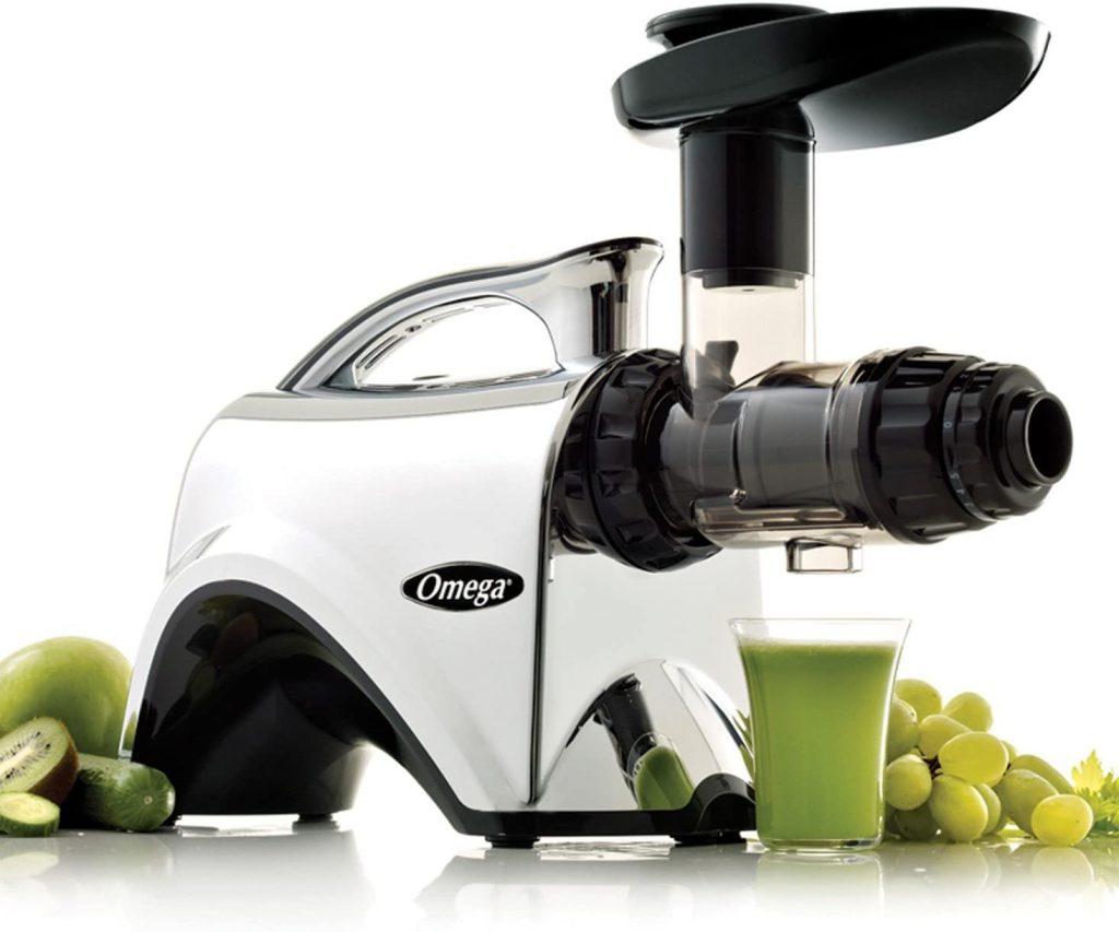best masticating juicer for hard vegetables and fruits Omega NC900HDS