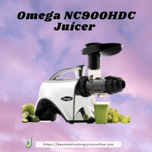 best masticating juicer 2021 for hard veggies Omega NC900HDC Juicer Extractor