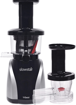 Tribest SW-2020 Slowstar, best masticating juicer for carrot and beets