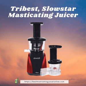 Tribest Slowstar best top pick for  best masticating juicer 2021 for carrot and beets