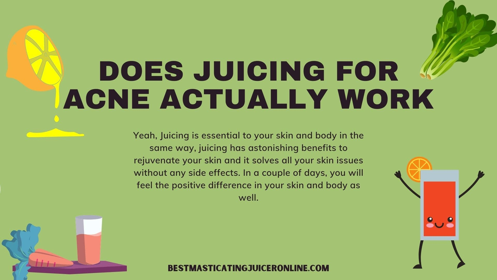 Does Juicing for Acne Actually Work