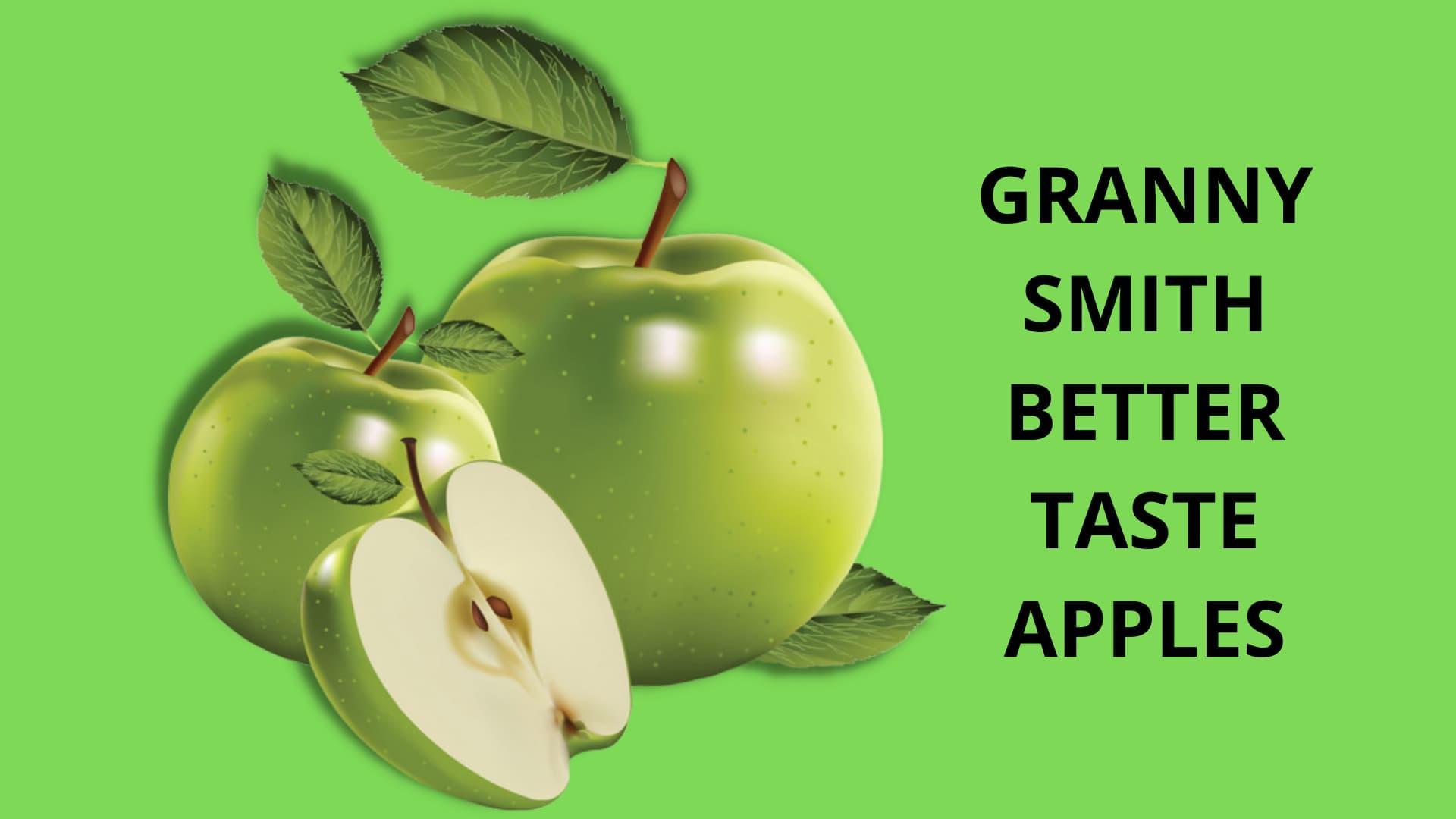 Granny Smith Better Taste Apples